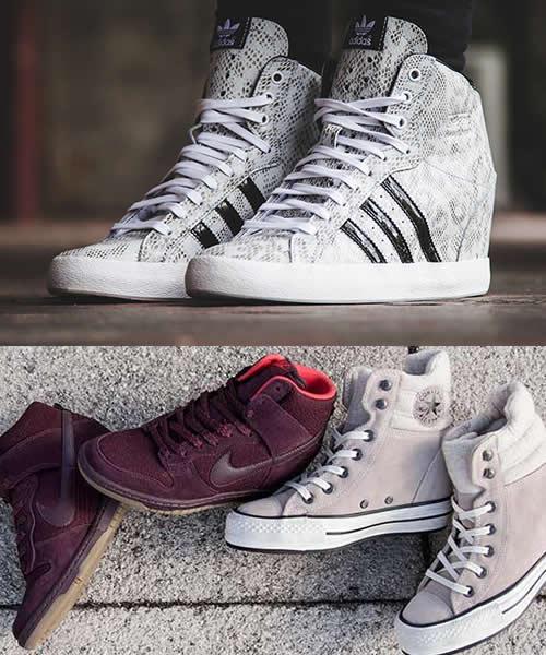 Ghete Cu Platforma Nike Si Adidas
