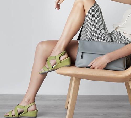 Sandale Ecco Dama Din Piele